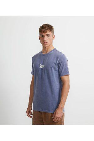 Ripping Camiseta Manga Curta em Algodão Estonada Estampada em Lettering | | | PP