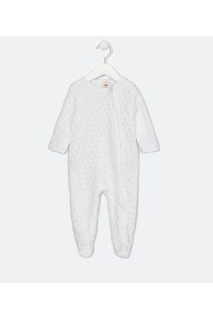 Teddy Boom (0 a 18 meses) Criança Macacão - Macacão Infantil em Fleece Poás em Relevo - Tam 0 a 18 meses | | | 3-6M