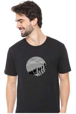 Eco Canyon Homem Camisolas de Manga Curta - Camiseta Masculina Sandro Clothing Moment Bl