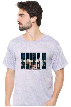 Eco Canyon Homem Camisolas de Manga Curta - Camiseta Masculina Sandro Clothing Movement