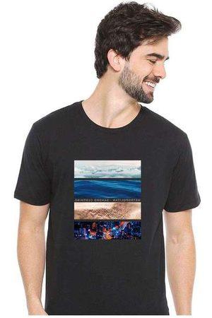 Eco Canyon Camiseta Masculina Sandro Clothing Life Blac