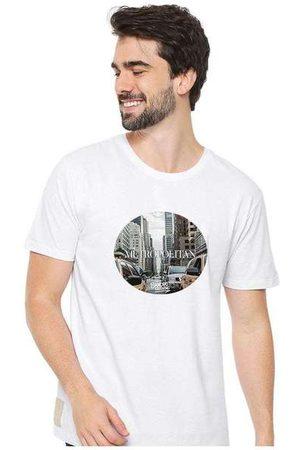 Eco Canyon Homem Camisolas de Manga Curta - Camiseta Masculina Sandro Clothing Metropolitan Br
