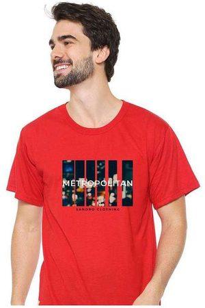 Eco Canyon Camiseta Masculina Sandro Clothing Movement Vermel