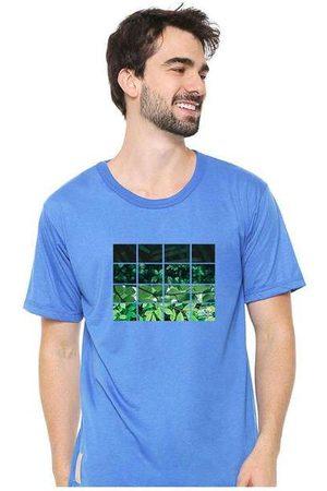Eco Canyon Camiseta Masculina Sandro Clothing Nature Blu