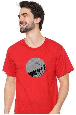 Eco Canyon Homem Camisolas de Manga Curta - Camiseta Masculina Sandro Clothing Moment