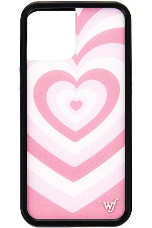 Wildflower IPhone 12 Pro Max Case in Pink.