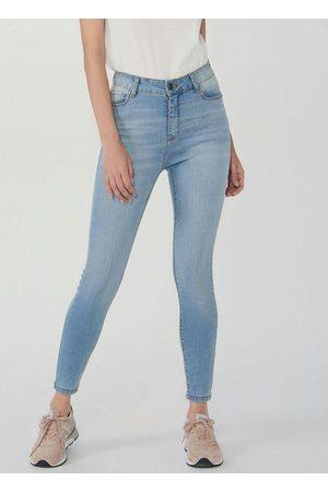 Hering Mulher Calça Feminina Jeans Cigarrete Soft Touch