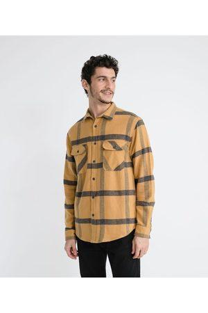 Ripping Camisa Manga Longa em Algodão Estampa Xadrez | | | G