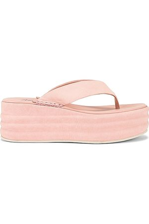 Free People Sandálias - Haven Thong Flatform Sandal in Pink. - size 36 (also in 37, 38, 39, 40, 41)