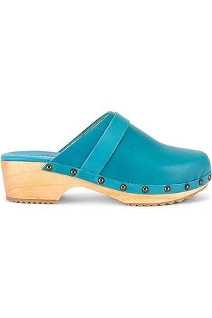 Free People Callum Clog in Blue. - size 36 (also in 37, 38, 39, 40, 41)