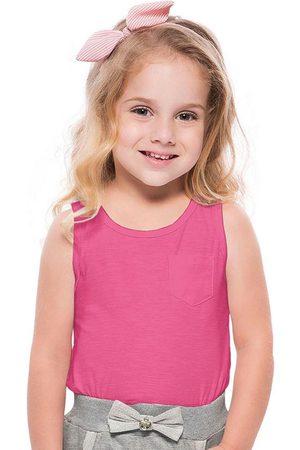 Fakini Kids Menina Blusas tipo Regata - Regata Mullet Básica