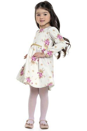 Playground Menina Vestido Estampado - Vestido Floral