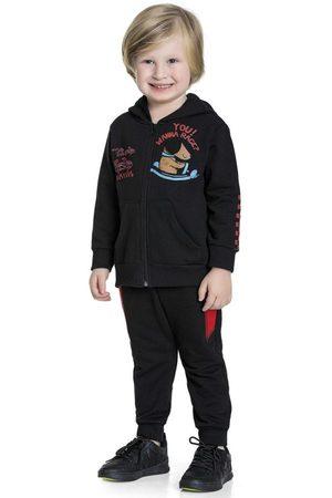 Fakini Kids Menino Jaquetas - Conjunto Jaqueta e Calça Preta