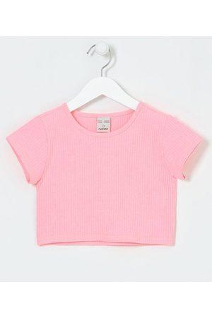 Fuzarka Blusa Cropped Infantil Neon Canelada - Tam 5 a 14 anos | | | 11-12