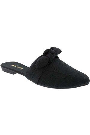 Liberté Mulher Sapato Mule - Mule Detalhe em Laço Tecido
