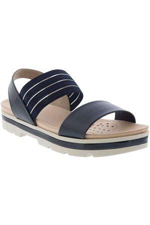 Modare Mulher Sandálias Plataforma - Sandália Ultraconforto Plataforma Marinho A