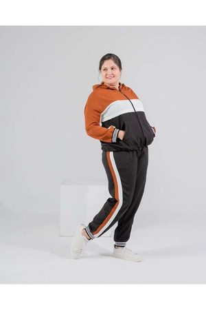 Miss Taylor Mulher Calça Jogger - Calça Jogger Almaria Plus Size Listras