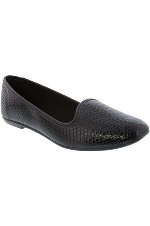 Moleca Mulher Mocassim & Slippers - Slipper com Textura Snake Verniz 5255