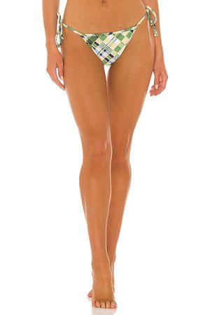 FAITHFULL THE BRAND Bikini - Hazel Bikini Bottoms in Green. - size L (also in M, S, XL, XS)