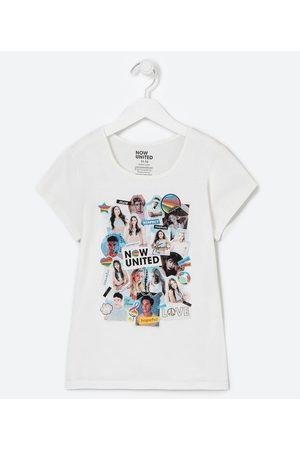 Now United Criança Blusa - Blusa Infantil Estampa com Fotoprint - Tam 4 a 14 anos       13-14