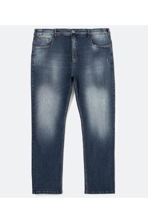 Marfinno Calça Reta em Jeans com Puídos | | | 56