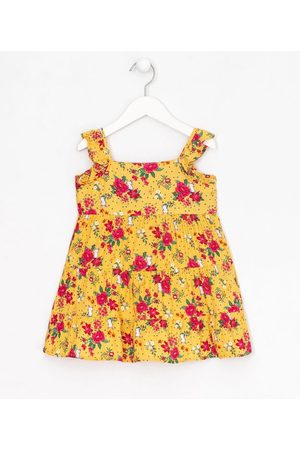 Póim (1 a 5 anos) Vestido Infantil Marias em Viscose Estampa Floral - Tam 1 a 5 anos       05