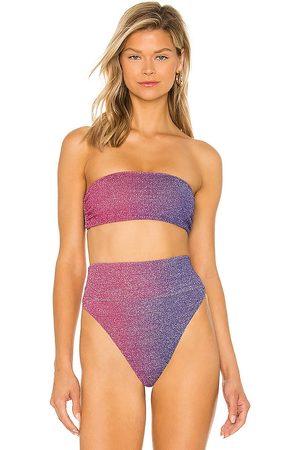 Beach Riot X REVOLVE Kelsey Bikini Top in Pink,Purple. - size L (also in M, S, XS)