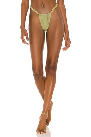 WeWoreWhat Ruched Bikini Bottom in . - size L (also in M, S, XS)