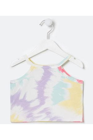 Fuzarka (5 a 14 anos) Criança Cropped - Blusa Infantil Cropped Estampa Tie Dye - Tam 5 a 14 anos | | Multicores | 7-8