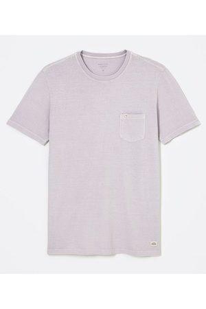 Marfinno Camiseta Manga Curta Lavada em Algodão com Bolso | | | EG I