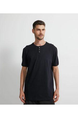 Viko Camiseta de Pijama Lisa com Gola Portuguesa | | | P