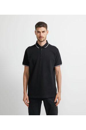Marfinno Camisa Polo com Detalhe na Gola | | | G