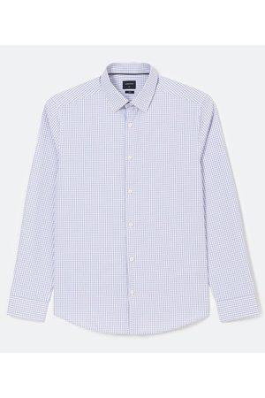 Marfinno Camisa Manga Longa Comfort em Padronagem Vichy | | | P