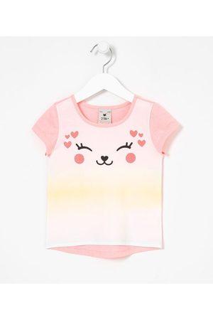 Póim (1 a 5 anos) Criança Blusa - Blusa Infantil Tie Dye Estampa de Gatinho - Tam 1 a 5 anos | | | 01