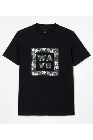 Ripping Camiseta Manga Curta em Algodão Estampa Wave       PP