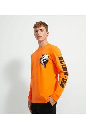 Blink 182 Camiseta Manga Longa Meia Malha Estampa | | | PP