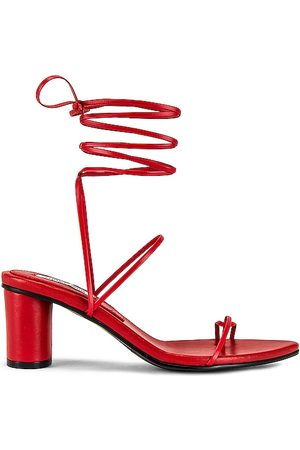 Reike Nen Odd Pair Sandals in Red. - size 35 (also in 36, 37, 38)