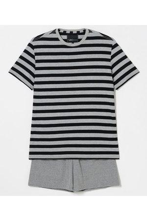 Viko Homem Pijamas - Pijama Curto Listrado em Poliviscose | | claro | GG