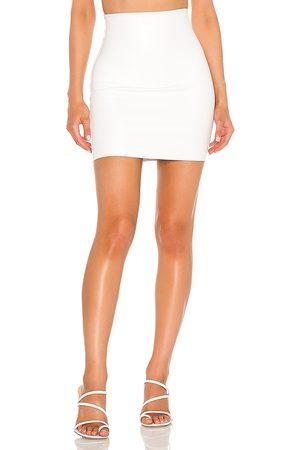 Commando Faux Leather Mini Skirt in . - size L (also in S, M)
