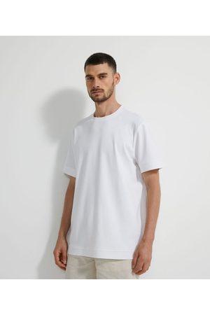 Marfinno Camiseta Manga Curta Lisa em Algodão       GG