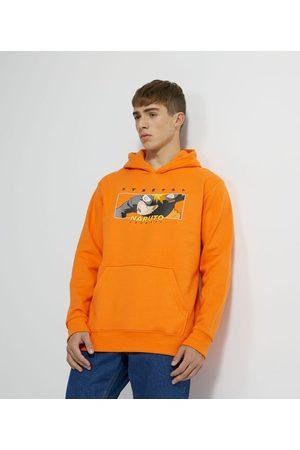 Naruto Homem Casacos - Blusão em Moletom com Capuz e Bolso Canguru Estampa | | | G