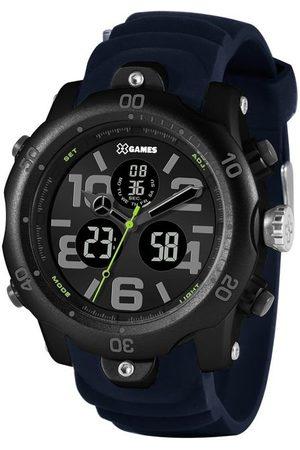 X Games Homem Pulseiras - Relógio Masculino X-Games XMPPA307-P2DX Anadigi | | | U