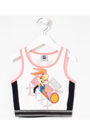Space Jam Blusa Infantil Cropped Estampa Lola - Tam 5 a 14 anos | | | 9-10