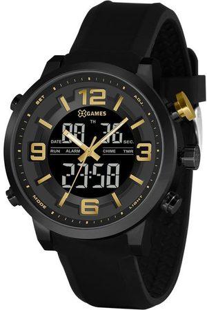 X Games Homem Pulseiras - Relógio Masculino XGames XMNPA007-P2PX Anadigi | | | U