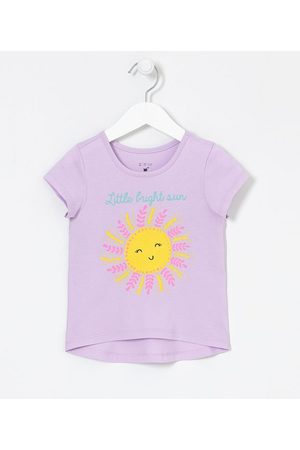 Póim (1 a 5 anos) Blusa Infantil Estampa de Sol Feliz - Tam 1 a 5 anos       01