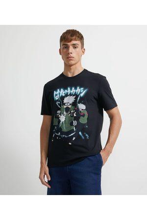 Naruto Camiseta Manga Curta Kakashi       G