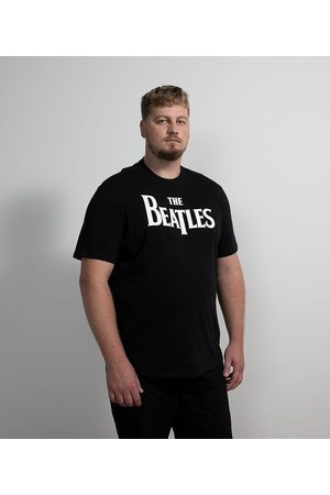 The Beatles Camiseta Manga Curta em Algodão - Plus Size       EG I