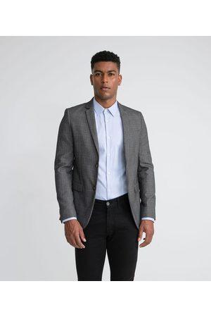 Preston Field Homem Blazer - Blazer Traje Slim Padronado em Poliviscose | | | P