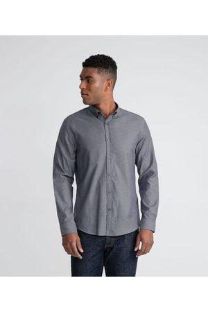 Marfinno Camisa Casual Maquinetada em Algodão | | | M