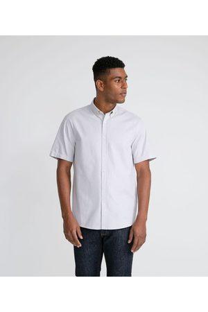Preston Field Homem Camisa Manga Curta - Camisa Manga Curta Comfort em Oxford | | | GG